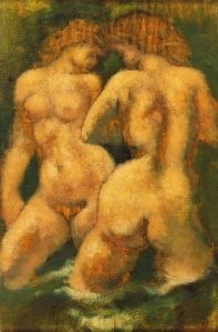 Bathers in a Torrent - Aristide Maillol - The Athenaeum