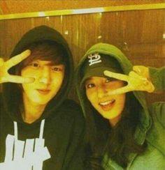 Chanyeol and Yoora(?)