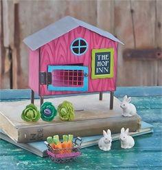 Bunny Farm Life Fairy Garden Gift Set Kit