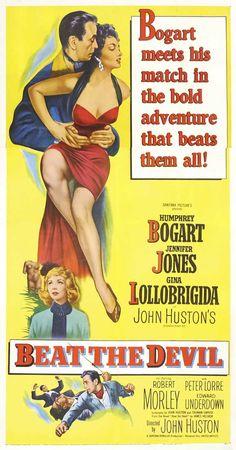 """Beat the Devil"", comedy adventure film by John Huston (USA, 1953)"