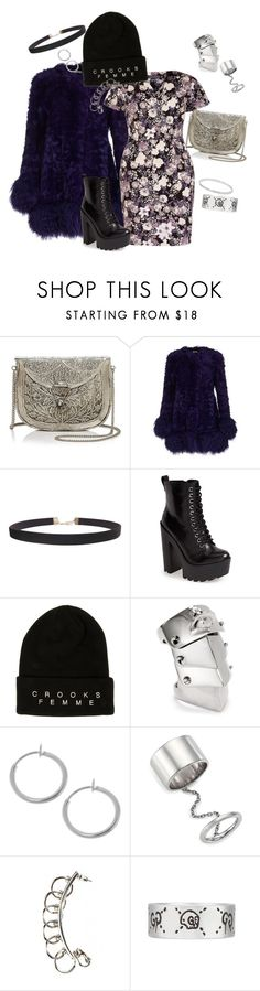 """""""Linger"""" by street-faerie ❤ liked on Polyvore featuring From St Xavier, Miu Miu, Sugarhill Boutique, Humble Chic, Steve Madden, Crooks & Castles, Vivienne Westwood, Elizabeth and James, Gucci and Catbird"""