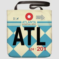 ATL - Tote Bag Hartsfield-Jackson Airport - Atlanta - Georgia, USA