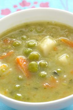 Homemade Pea Soup Recipe
