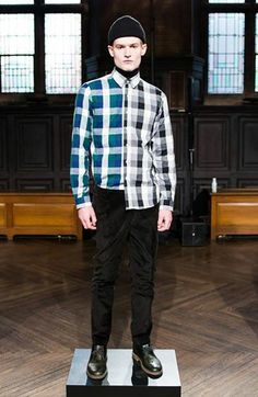 CASUAL LAYERS AT TIMO WEILAND FALL/WINTER 2014. See the looks here: http://select.sm/LEiFhj