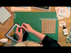 Craft Dies by Sue Wilson -- Tutorial Video - Kraft Lattice for Creative Expressions - YouTube