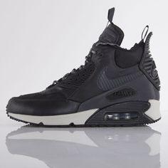 Nike buty Air Max 90 Sneakerboot Winter black / black - magnet grey (684714-001)
