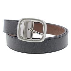 Robert Graham Mens Bonker Faux Leather Reversible Casual Belt