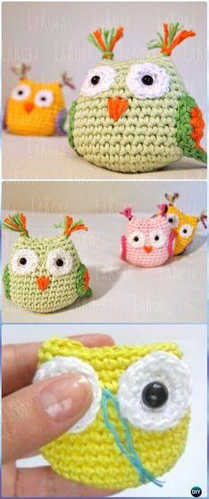 Amigurumi Cute Owl Free Pattern - Amigurumi Crochet Owl Free Patterns
