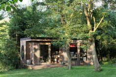 Harry Villiers shed/home office/room of his own - a way to add extra space, neither an extension nor a conservatory