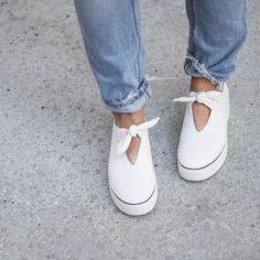 Pinterest ⋮EVELYN⋮  @mishanonoo x #aldorise PINOCCHIO sneakers as seen on @juliamateian