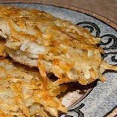 Placki ziemniaczane z grubo startych ziemniaków @ allrecipes.pl