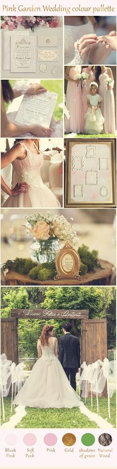 blush and gold wedding palette pink wedding palette