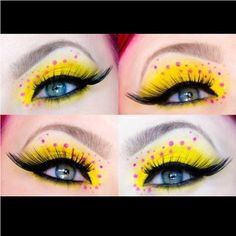 Supercute spring look by Heidi using #Sugarpill Buttercupcake eyeshadow!