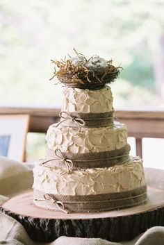 Your more rustic Wedding Cake