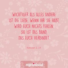 Wichtiger als alles andere ist die Liebe. Wenn ihr sie habt, wird euch nichts fe… More important than anything else is love. It is the bond that connects you. # Love sayings Love Quotes, Funny Quotes, Inspirational Quotes, Make You Feel, How Are You Feeling, Quotation Marks, Wedding Quotes, Engagement Ring Cuts, Birthday Quotes