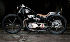 Yamaha XS650 By M Customs    ♠ http://hellkustom.blogspot.com/ ♠
