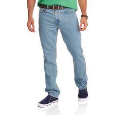 Faded Glory Big Men's Original Fit Jean, Size: 52 x 30, Gray