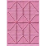 Provo Craft Cuttlebug Embossing Folder - African Weave (A7 size)