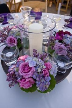 Isari Flower Studio + Event Design is a San Diego florist specializing in wedding flowers, everyday flower arrangements, business and house accounts. Mod Wedding, Purple Wedding, Wedding Themes, Wedding Decorations, Wedding Ideas, Rose Centerpieces, Purple Centerpiece, Flower Studio, Wedding Table Flowers