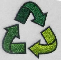 Recycle Machine Sewing Embroidery Design. Free Embroidery Designs and Fonts