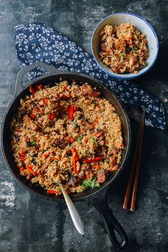 Xinjiang Lamb Rice 新疆手抓饭