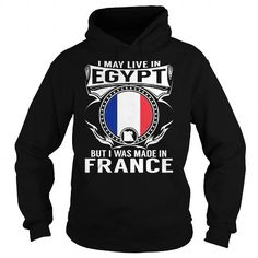 I Love Live in Egypt - But Made in France Shirts & Tees