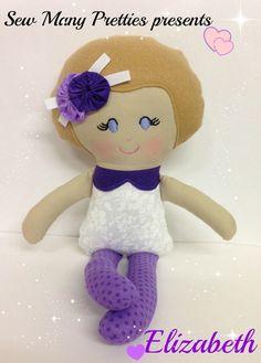 15 inch handmade doll- Elizabeth from Sew Many Pretties