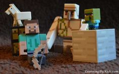 MINECRAFT ----- Setting Our Sights on Archery | LearningByKids.com
