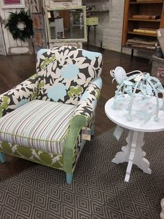 Happy Chair (designed by shawna robinson - this pic from jen bowles site) out of Charlotte... LOVE Happy Chair.