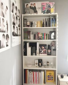 Discover recipes, home ideas, style inspiration and other ideas to try. Room Ideas Bedroom, Bedroom Decor, Army Room Decor, Bookshelf Design, Room Goals, Aesthetic Room Decor, Room Tour, Dream Rooms, New Room