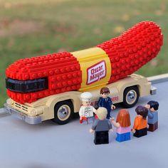 Lego Weinermobile!                    vVVVVVVVVVVVVVVVVVVVVVVVVVVVVVVVVVVVVVVVVVVVVVVVVVVVVVVVVVVVVVVvvvvvvvvvvvvvvvvvvvvvvvvvv