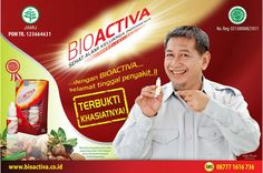 Deddy Mizwar aktor Indonesia memakai bioactiva, bagaimana dengan Anda...