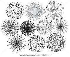 Image result for firework doodles