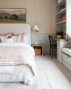 Studio McGee (@studiomcgee) • Instagram photos and videos Country Farm, Country Homes, Studio Mcgee, Pattern Mixing, Wren, Boudoir, Master Bedroom, Modern, Furniture