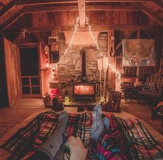 Charming rustic cabin living