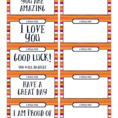 Shop - Momless Mom Cute Lunch Boxes, Lunch Box Notes, Back To School Crafts, School Week, Have A Great Day, Preschool, Love You, Printables, Thoughts