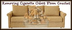 Removing Cigarette Odors from Couches