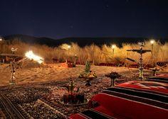 United Arab Emirates 2 hours outside of Abu Dhabi, desert retreat called Anantara Qasr Al Sarab