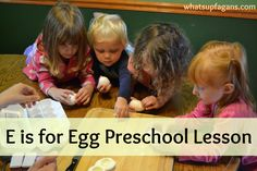 E is for Egg Preschool Lesson Plan - Hands on Learning experience ideas. Learn to crack eggs, boil them, scramble them, and then play with the scrambled eggs. Preschool Lesson Plans, Preschool At Home, Preschool Curriculum, Homeschool, Preschool Eggs, Preschool Ideas, Craft Ideas, Letter P Activities, Teaching Activities