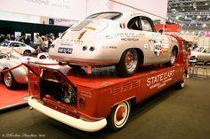 VW Porsche Transporter by Thorsten Haustein, via Flickr