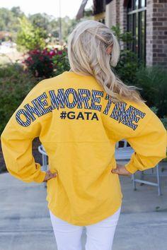 One More Time Spirit Jersey #GATA   Show your Georgia Southern spirit!