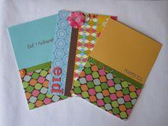 Handmade Eid cards x3