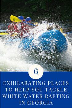 6 Exhilarating Places You Should Try White Water Rafting Georgia Adventure Holiday, Adventure Travel, Atlanta Travel, Blue Ridge Georgia, Whitewater Rafting, Family Travel, Family Trips, Weekend Fun, Dream Vacations