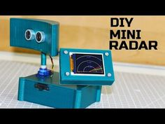 How to make an Arduino-based mini compact radar. Find this and other hardware pr. - Printing How to make an Arduino-based mini compact radar. Find this and other hardware projects on Hackster. Electronics Projects, Hobby Electronics, Electrical Projects, Arduino Radar, Apple Tv, Circuit Drawing, Diy Tech, Raspberry Pi Projects, Mini