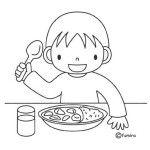 oběd v mateřské škole Preschool Food Crafts, Preschool Printables, Colouring Pages, Coloring Pages For Kids, Coloring Books, Activities For Adults, Color Activities, School Routines, Cute Clipart