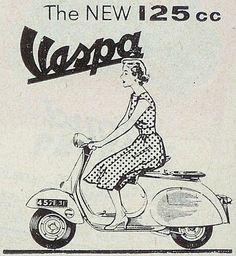 Vespa 125 ~ Anonym