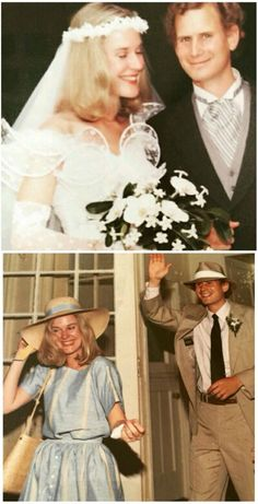 Lana Del Rey's parents (Rob & Patty Grant) on their wedding day and honeymoon #LDR