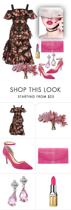 """""""Alexander McQueen Dress"""" by naviaux ❤ liked on Polyvore featuring Alexander McQueen, The French Bee, Ivanka Trump and Elizabeth Arden"""