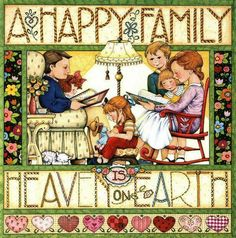 A Happy Family by Mary Engelbreit