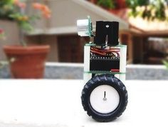 Hello, everyone! In this instructable, I'll show you how to build a small self-balancing robot that can move around avoiding obstacles. This is a tiny robot measuring 4 inches wide and 4 inches tall and is based on the Arduino Pro Mini development board and the MPU6050 accelerometer-gyroscope module. In the steps that follow, we will see how to interface the MPU6050 with Arduino, how to measur..